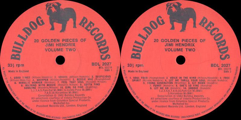 Discographie : Enregistrements pré-Experience & Ed Chalpin  - Page 2 20GoldenPiecesOfvolumetwoLabel
