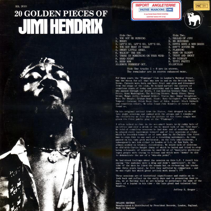 Discographie : Enregistrements pré-Experience & Ed Chalpin  - Page 2 20GoldensPiecesOfBack