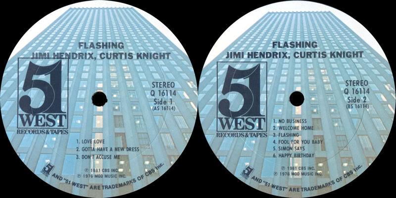 Discographie : Enregistrements pré-Experience & Ed Chalpin  - Page 4 51WestQ16114FlashingTheLegendaryLabel