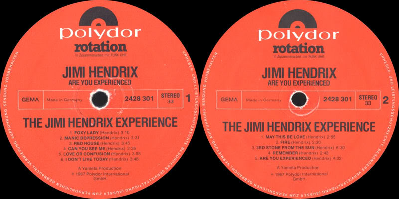 Discographie : Rééditions & Compilations - Page 5 AreYouExperienced-Polydor2428301RotationLabel
