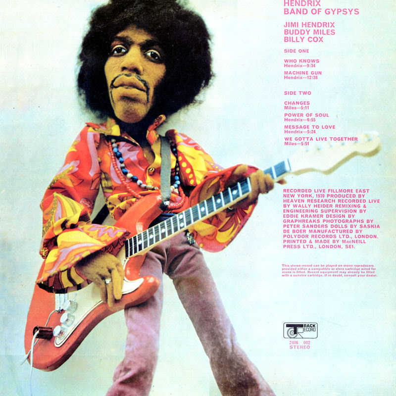 Band Of Gypsys (1970) BandOfGypsyspoupeBack