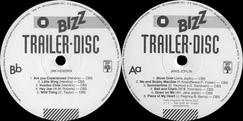 Discographie : 45 Tours : SP,  EP,  Maxi 45 tours - Page 9 BizzTrailerDiscLabel