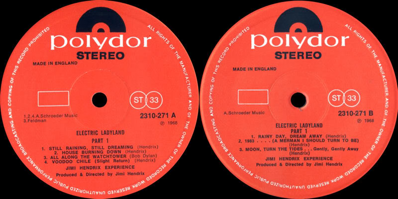 Discographie : Rééditions & Compilations - Page 4 ElectricLadylandPart1Label