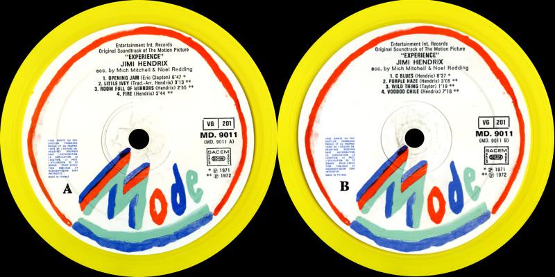 Londres (Royal Albert Hall) : 24 février 1969 ExperienceLabel