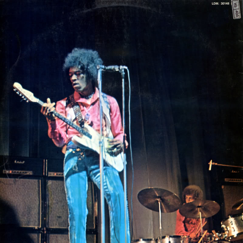 Londres (Royal Albert Hall) : 24 février 1969 Experiencemoreexperiencevol2Back