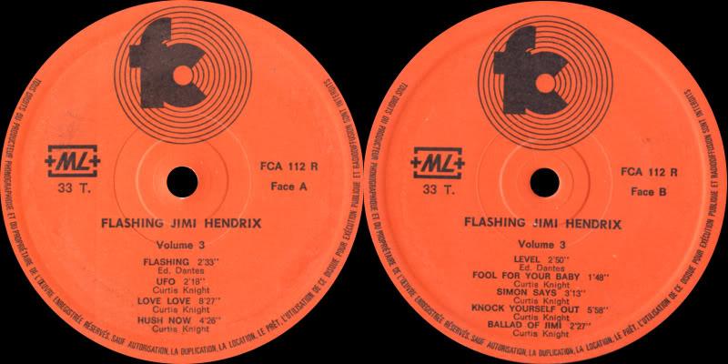 Discographie : Enregistrements pré-Experience & Ed Chalpin  - Page 2 FlashingLabel