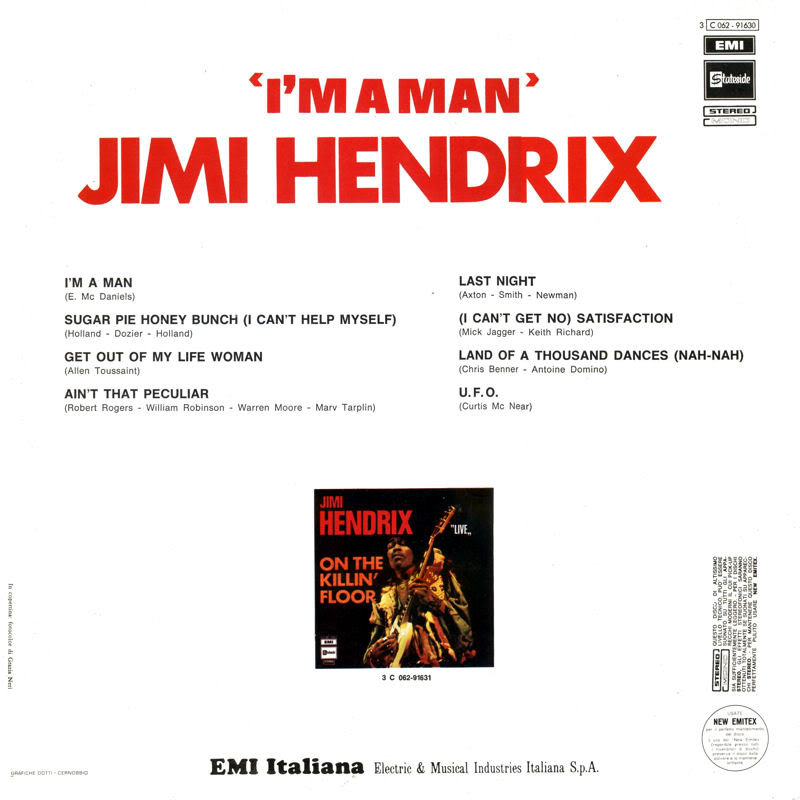 Discographie : Enregistrements pré-Experience & Ed Chalpin  - Page 3 ImAManItalieBack