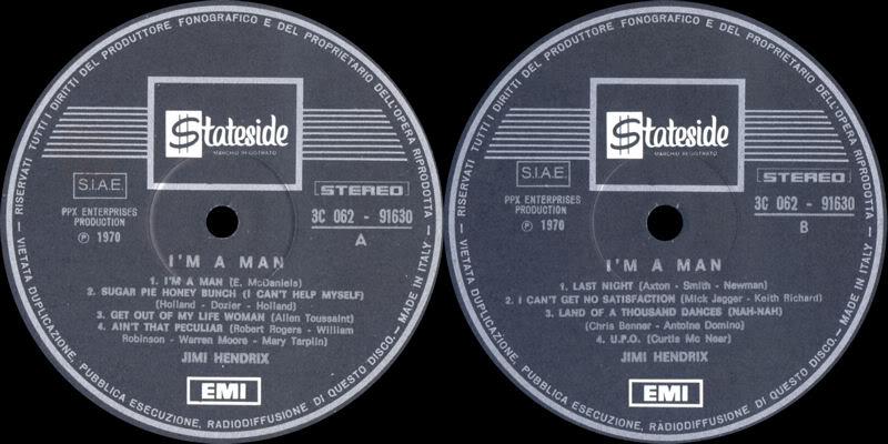 Discographie : Enregistrements pré-Experience & Ed Chalpin  - Page 3 ImAManItalieLabel
