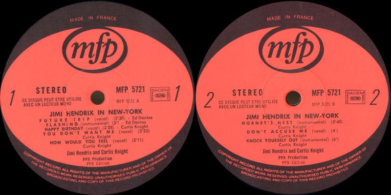 Discographie : Enregistrements pré-Experience & Ed Chalpin  InNewYorkLabel