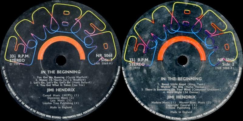 Discographie : Enregistrements pré-Experience & Ed Chalpin  InTheBeginningLabel