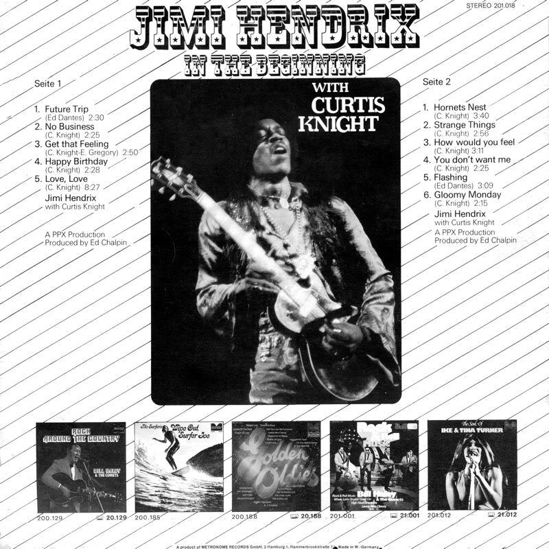 Discographie : Enregistrements pré-Experience & Ed Chalpin  - Page 2 InTheBeginningMetronomeBack