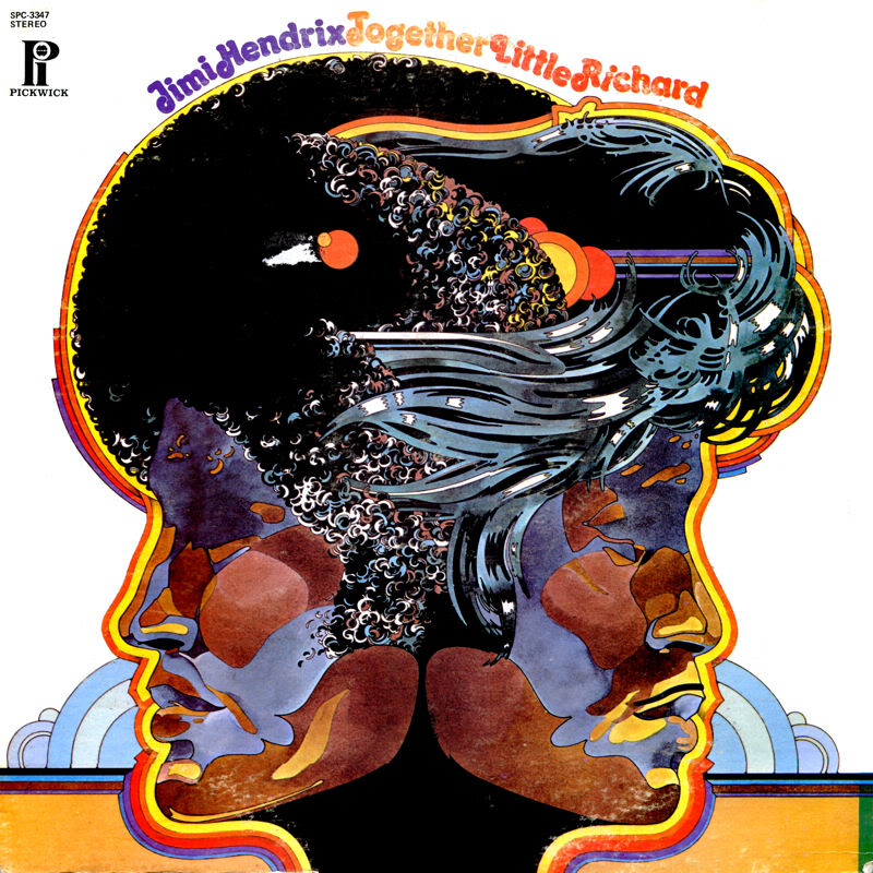 Discographie : Enregistrements pré-Experience & Ed Chalpin  - Page 3 JimiHendrixLittleRichard-TogetherFront