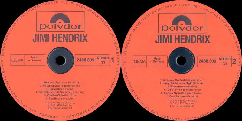 Discographie : Rééditions & Compilations - Page 4 JimiHendrixPolydor1978label