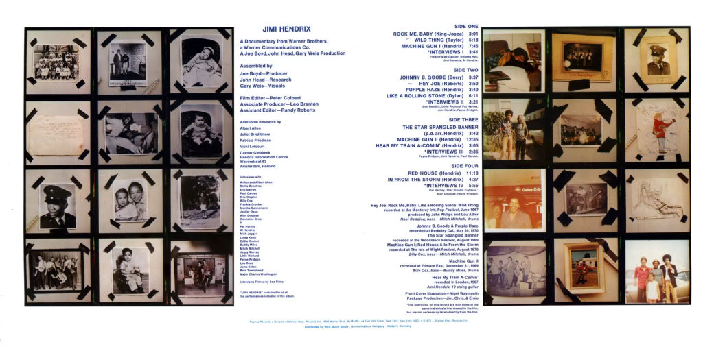 Sound Track Recordings From The Film Jimi Hendrix (1973) JimiHendrixSoundtrackRecordingsFromTheFilmInside