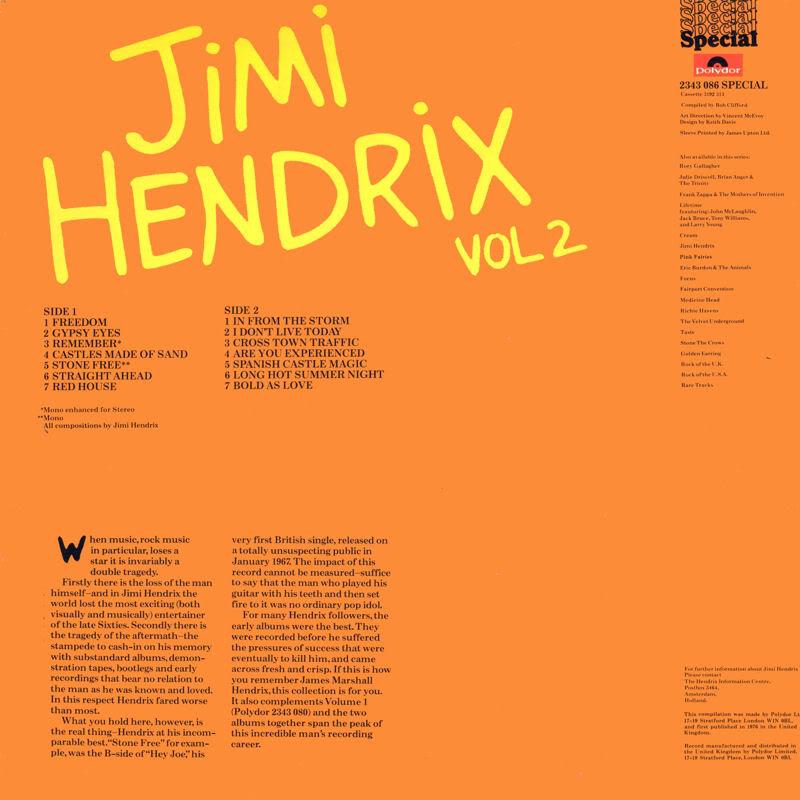 Discographie : Rééditions & Compilations JimiHendrixVol2B