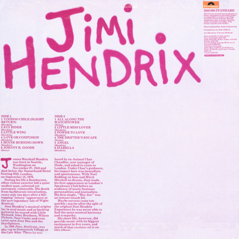 Discographie : Rééditions & Compilations JimiHendrixcollectionStandardDos_zpsbdeacd91