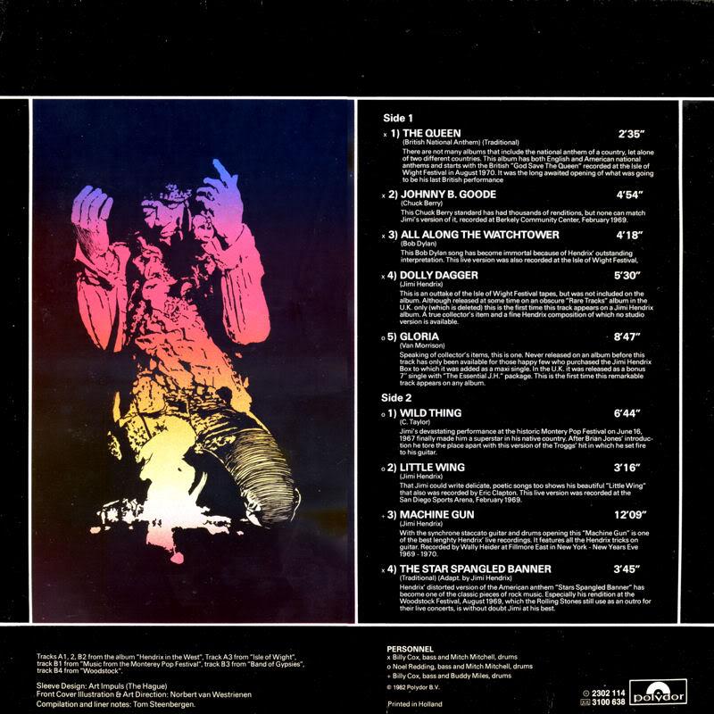 Discographie : Rééditions & Compilations - Page 2 LiveBack