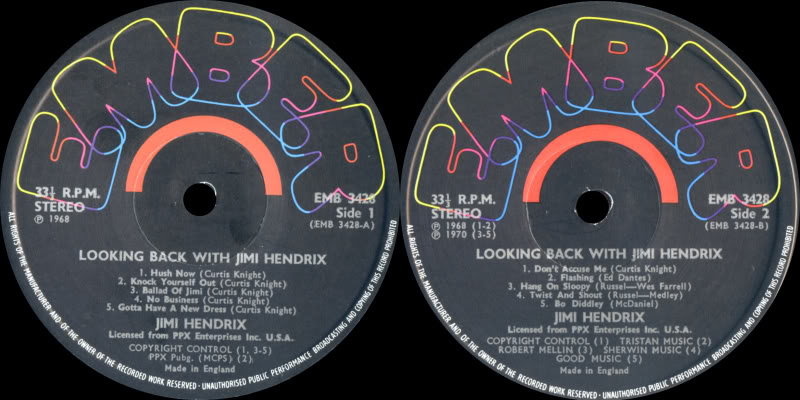 Discographie : Enregistrements pré-Experience & Ed Chalpin  - Page 2 LookingBackWithLabel