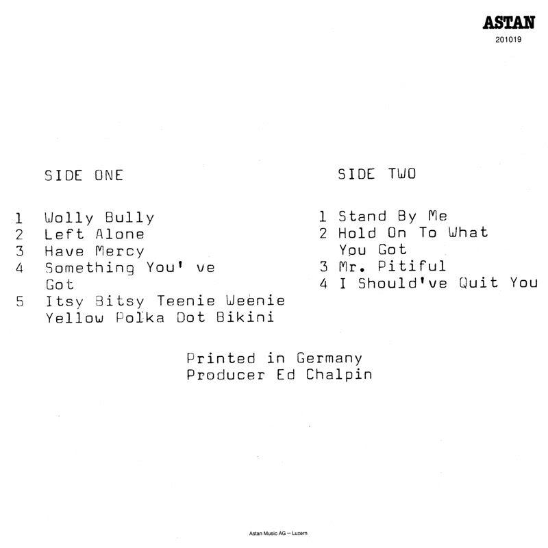 Discographie : Enregistrements pré-Experience & Ed Chalpin  - Page 2 MrPitifulBack