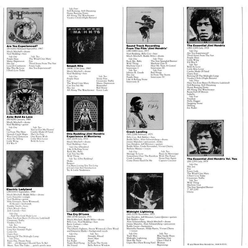 Nine To The Universe (1980) NineToTheUniversepromopochetteback