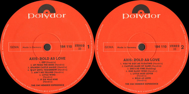 Discographie : Rééditions & Compilations - Page 9 Polydor184110AxisBoldAsLoveLabel_zpsbb4ad54b