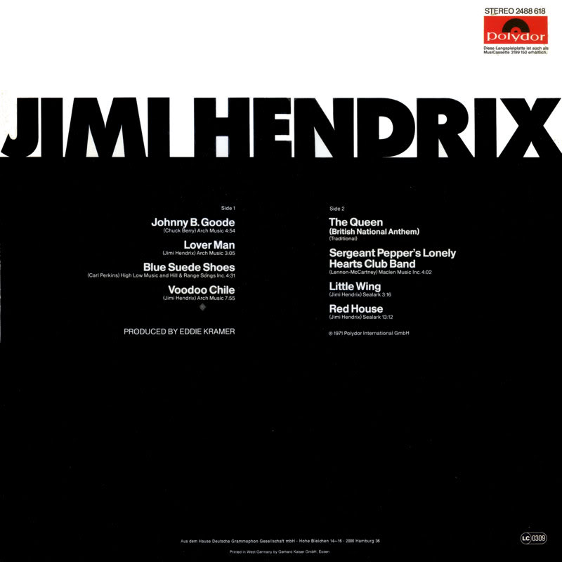 Discographie : Rééditions & Compilations - Page 6 Polydor2488618JimiHendrixBack