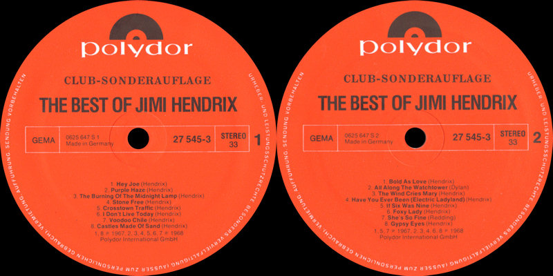 Discographie : Rééditions & Compilations - Page 7 Polydor27545-3TheBestOfLabel_zps985869c5