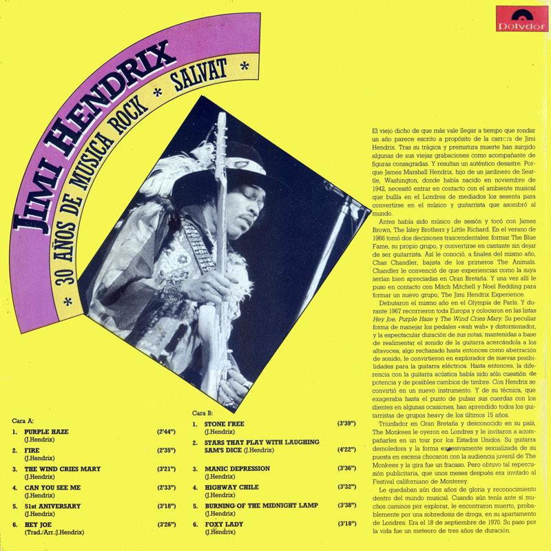 Discographie : Rééditions & Compilations - Page 7 Polydor822291-1-30AnosDeMusicaRockBack