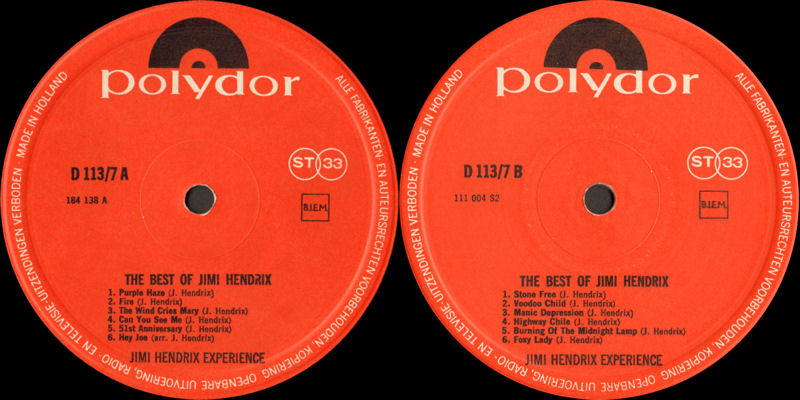 Discographie : Rééditions & Compilations - Page 9 PolydorD113-7-TheBestOfLabel_zps013ba64c