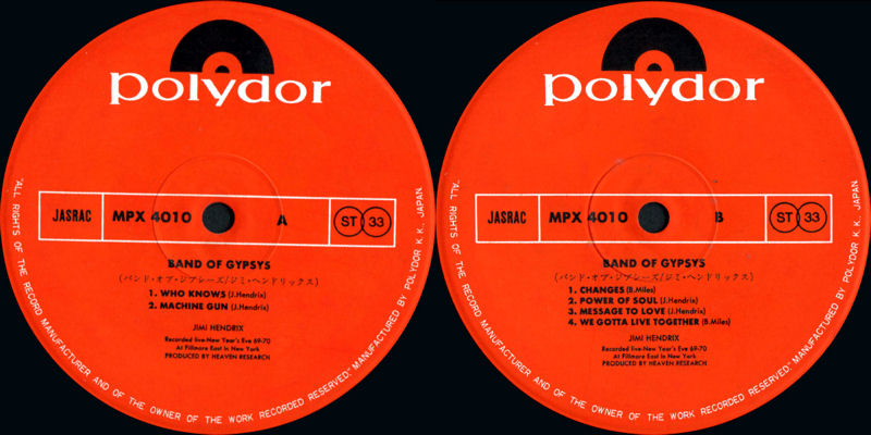 Discographie : Rééditions & Compilations - Page 9 PolydorMPX4010-BandOfGypsysLabel_zps35b948a6