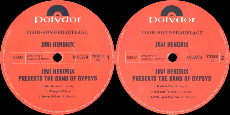 Discographie : Rééditions & Compilations - Page 5 PresentsTheBandOfGypsysLabel