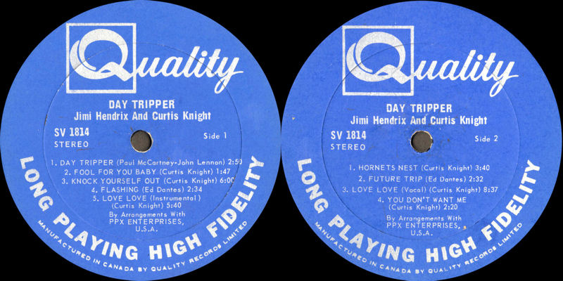 Discographie : Enregistrements pré-Experience & Ed Chalpin  - Page 6 QualitySV1814-DayTripperCanadaLabel_zpsaba5ae22