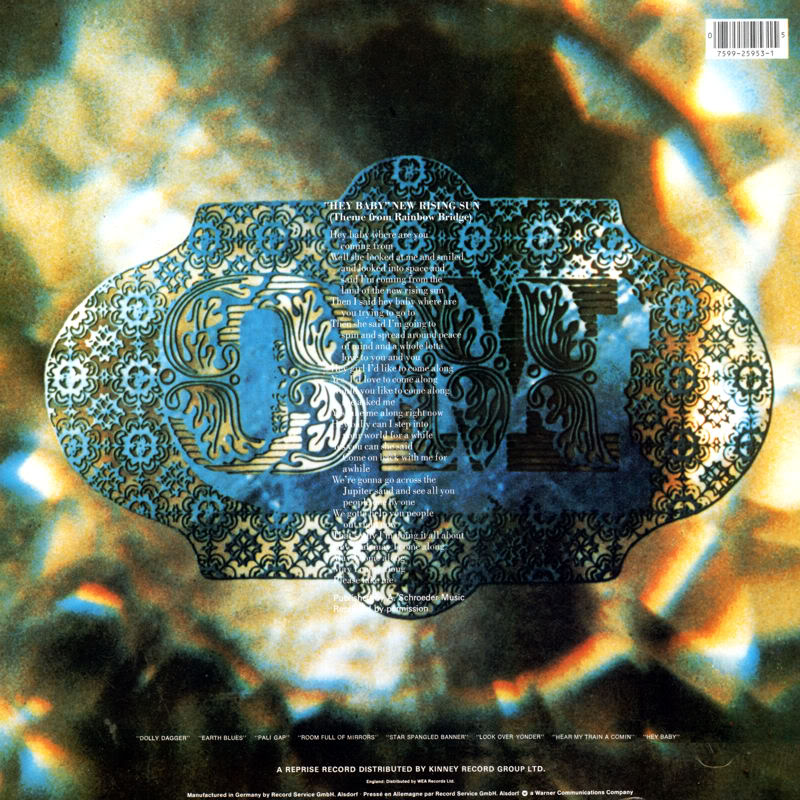 Discographie : Rééditions & Compilations - Page 5 RepriseK44159-RainbowBridgeBack