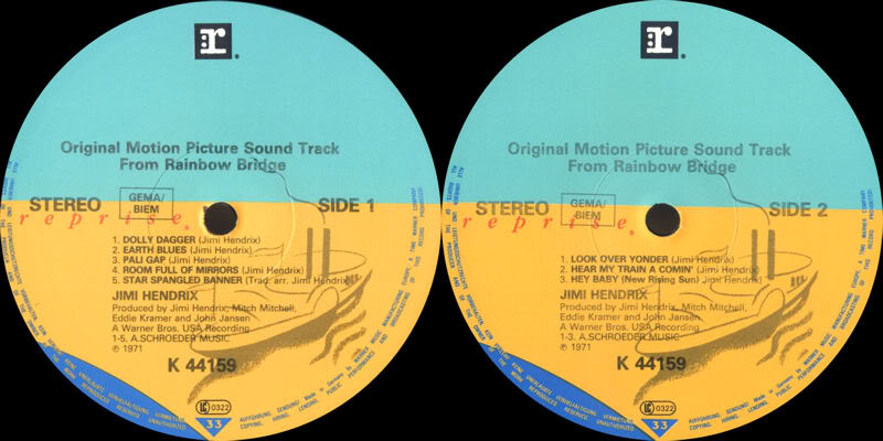 Discographie : Rééditions & Compilations - Page 5 RepriseK44159-RainbowBridgeLabel