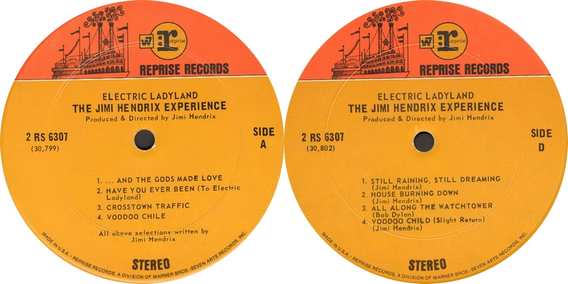 Electric Ladyland (1968) - Page 3 RepriseRS6307ElectricLadylandLabel2couleursLabel1