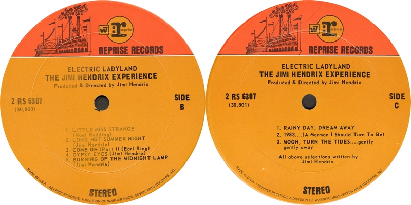 Electric Ladyland (1968) - Page 3 RepriseRS6307ElectricLadylandLabel2couleursLabel2