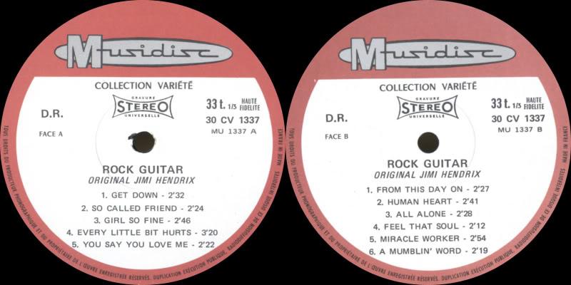 Discographie : Enregistrements pré-Experience & Ed Chalpin  RockGuitarLabel