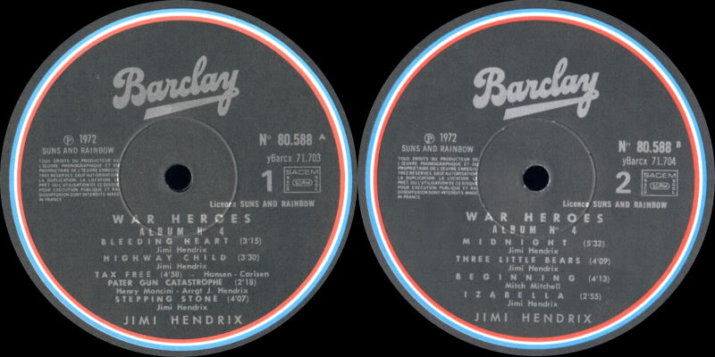 Discographie : Made in Barclay - Page 2 SunsandRainbowVolume4BarclayLabel2