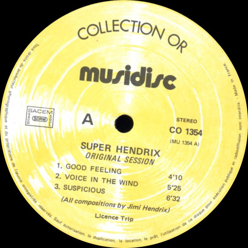 Discographie : Enregistrements pré-Experience & Ed Chalpin  SuperHendrix3