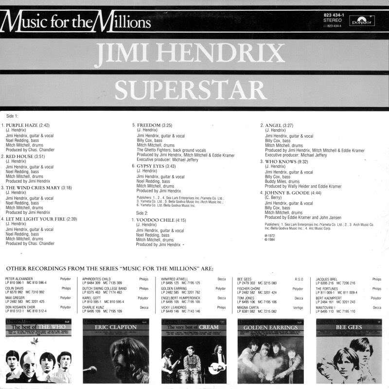 Discographie : Rééditions & Compilations - Page 6 SuperstarBack