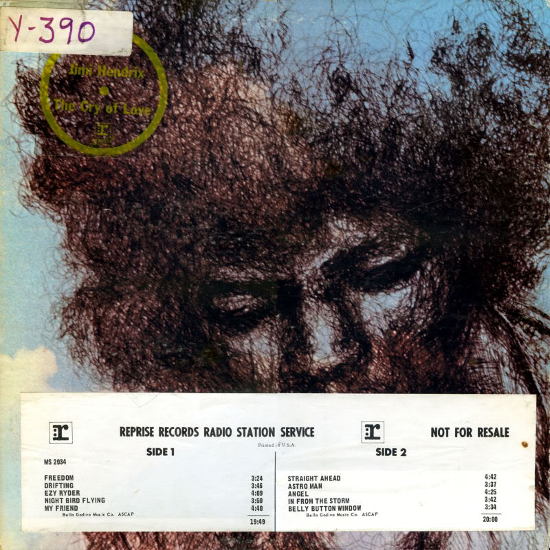 The Cry Of Love (1971) TheCryOfLoveFrontPromotionalCopy