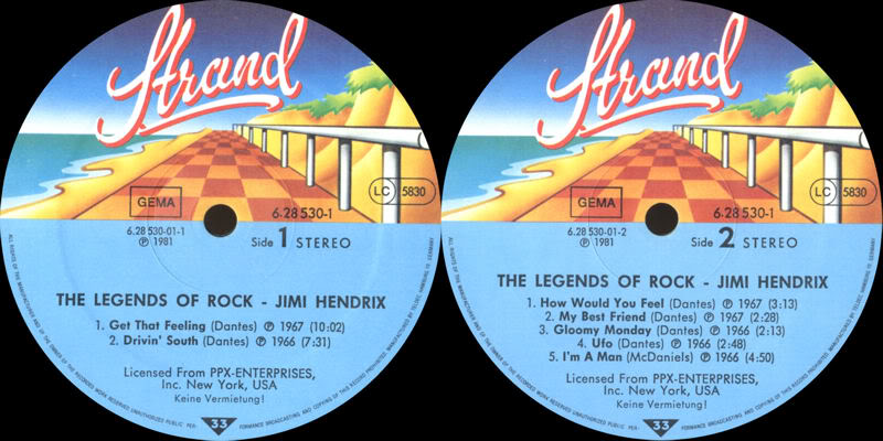 Discographie : Enregistrements pré-Experience & Ed Chalpin  - Page 2 TheLegendsOfRockLabel1