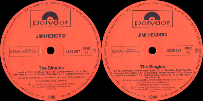 Discographie : Rééditions & Compilations - Page 3 TheSinglesAlbumLabel1