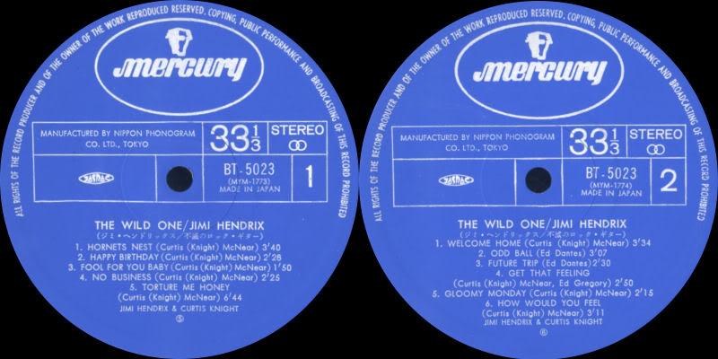 Discographie : Enregistrements pré-Experience & Ed Chalpin  TheWildOneJapanlabel