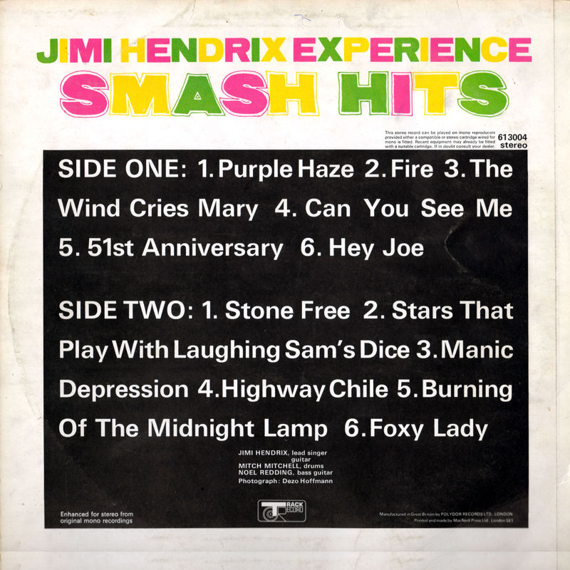 Discographie : Rééditions & Compilations - Page 7 Track613004-SmashHitsBack_zpsb170d754