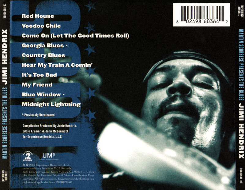 Discographie : Compact Disc   - Page 5 ExperienceHendrixB0000698-02-MartinScorsesePresentsTheBluesBack1_zps0aa9aab7