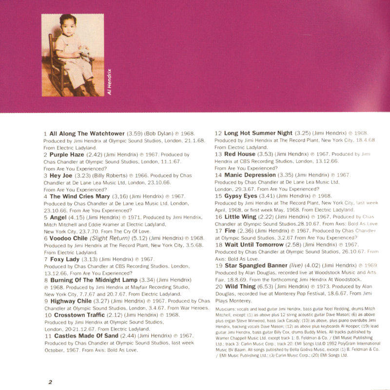 Discographie : Compact Disc   - Page 5 Polydor517235-2TheUltimateExperienceLivret1_zpsf15d4c6a