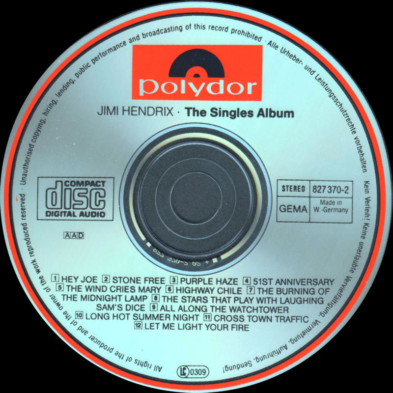Discographie : Compact Disc   - Page 4 Polydor827369-2TheSinglesAlbumLabel1_zps23874892