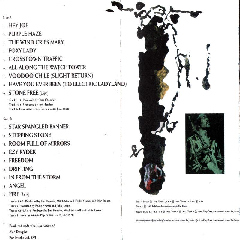 Discographie : Rééditions & Compilations CornerstonesK7Back_zps3iz7esif