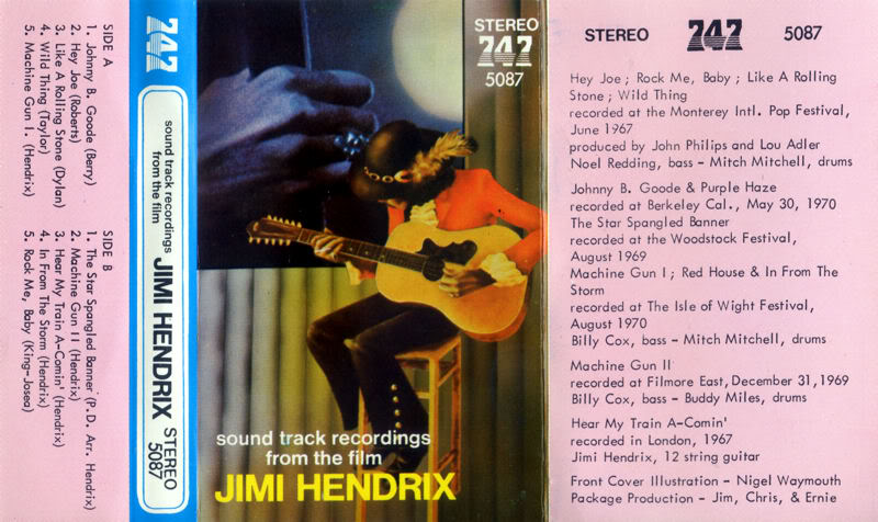 Discographie : Rééditions & Compilations - Page 7 SoundtrackRecordingFromTheFilmjaquettetape